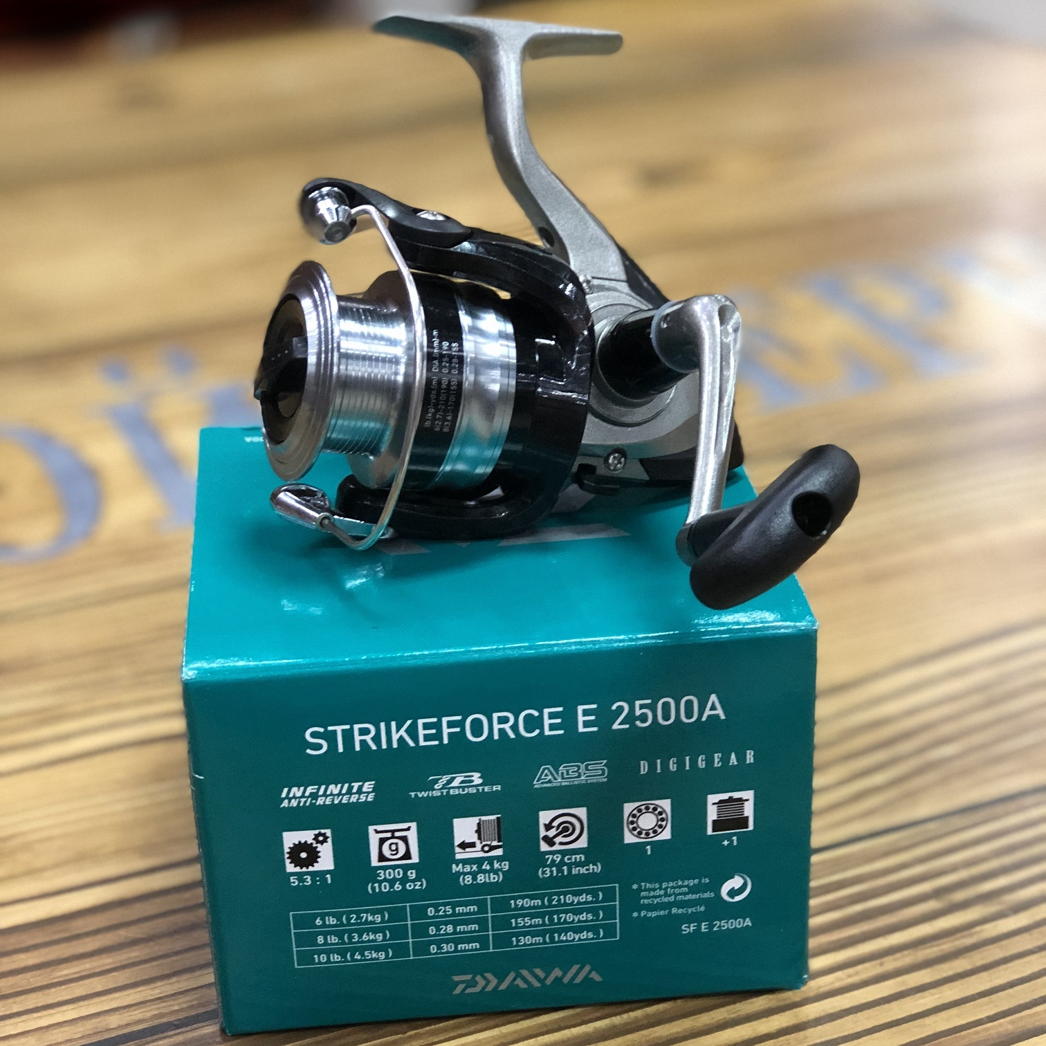 Катушки Daiwa Strikeforce